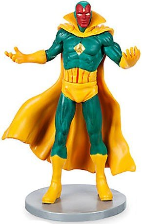 Disney Marvel Avengers Vision PVC Figure Disney Pvc Figure