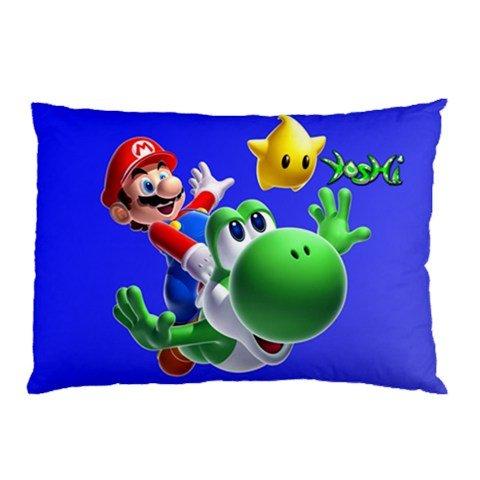 Pillow cases Mario Bros Yoshi Funda de Almohada en tamaño 18 ...
