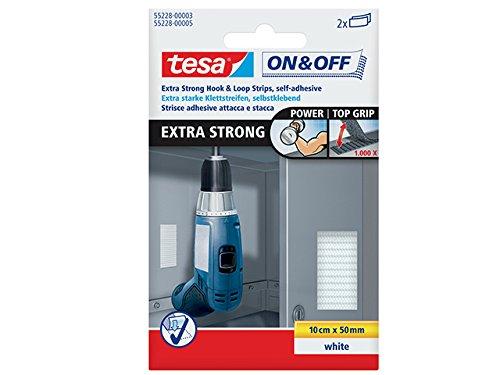 Tesa SPA 84466 Tesa Velcro Nastro 0,1X50 Bianco