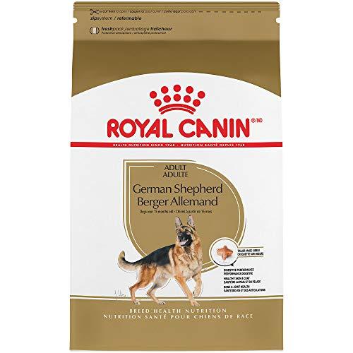 Royal Canin Breed Health Nutrition German Shepherd Adult Dry Dog Food, 30-Pound ()