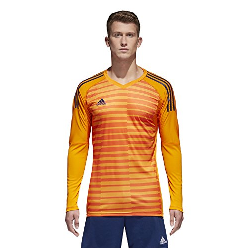 897144c23f5 adidas AdiPro 18 Goalkeeping Jersey (Lucky Orange Orange Unity Ink