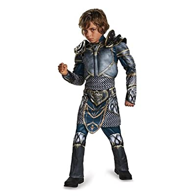 Lothar Classic Muscle Warcraft Legendary Costume, X-Large/14-16: Toys & Games [5Bkhe1402665]