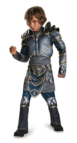 Broadway Costumes For Boys (Lothar Classic Muscle Warcraft Legendary Costume, X-Large/14-16)