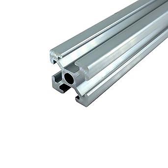 1 pieza 2020 450 mm 17.7 pulgadas estándar europeo lineal riel ...