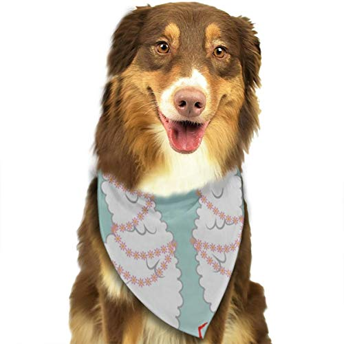 HJudge Dog Bandana I Love You Llama Alpaca