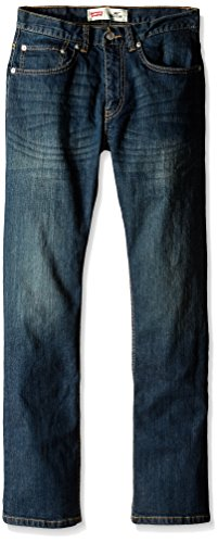 Levi's Boys' 505 Regular Fit Jeans,Cash,16 Slim, 26W 28L (Levi Jeans 505)
