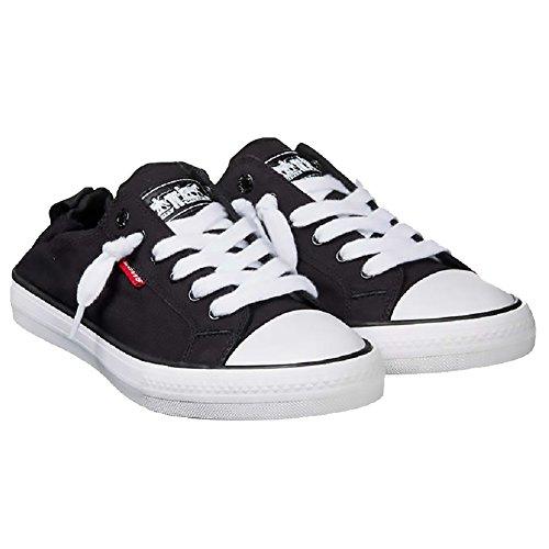 Levi's Women's Stan G Black Denim Sneakers Comfort Tech Size 7.5