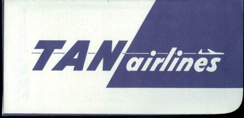 TAN Transportes Aéreos Nacionales airline ticket wallet wrapper ()