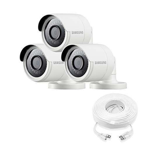 Samsung Wisenet SDC-89440BB-3PK – 4MP Weatherproof Bullet Camera (3-Pack) Compatible with SDH-C85100BF