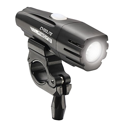 Cygolite Metro 500 USB Rechargeable Bike Light, Powerful 500 Lumen Bicycle Headlight for Road Cycling and Commuters, 6 Different Lighting Modes for Day and Night Safety. Review