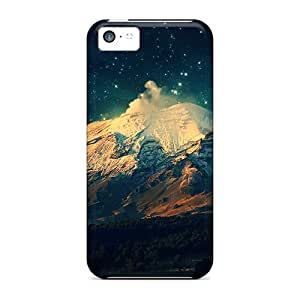 Special LLYH Skin Case Cover For Iphone 5c, Popular Mac Os X Skyscapes Phone Case