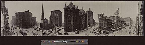 1911 Photo Main St. & Shelton Square, Buffalo, N.Y. Location: Buffalo, New York