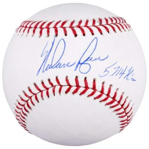 "NOLAN RYAN Autographed Houston Astros""5714 K"