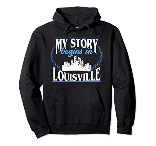 Louisville shirt | Born in Louisville Pullover Hoodie