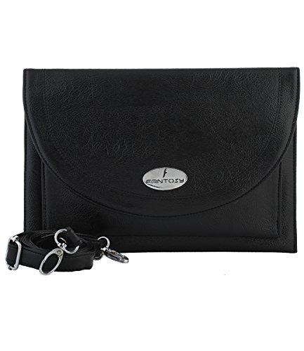 fantosy women Black Jemini slingbag FNSB-075