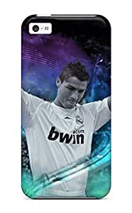 Iphone 5c Case Slim [ultra Fit] Cristiano Ronaldo Real Madrid 2010 Protective Case Cover