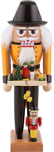 KWO Toy Maker German Christmas Nutcracker Handcrafted in Erzgebirge Germany New (Nutcracker German Kwo)