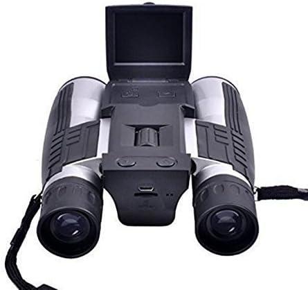 Cámara Binocular Digital/binoculares Digitales 12x32 con Pantalla LCD de 2 Pulgadas y Zoom óptico + Digital