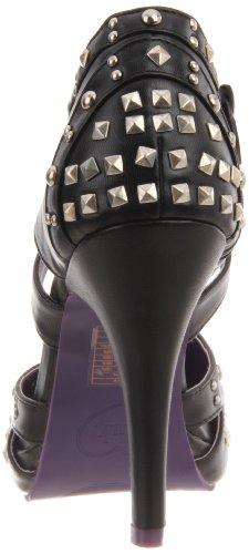 Para Negro Vestir u De T k Zapatos Mujer qw4FWZBX