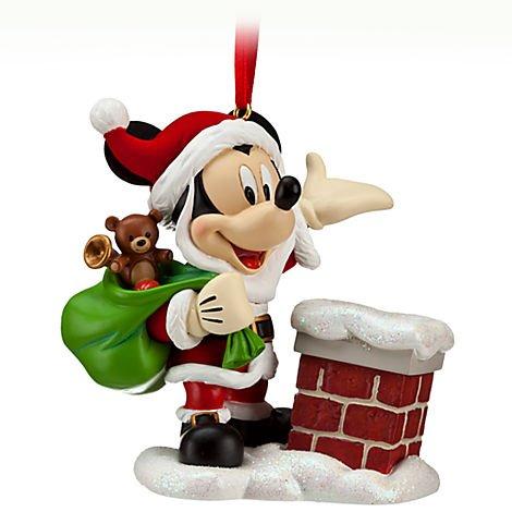 Disney Santa Mickey Mouse 'Ho Ho Ho' Sketchbook Ornament