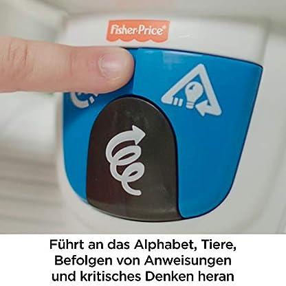 Fisher-Price FKC35 Lern-Roboter Movi interaktiver Lernspielzeug Roboter deutschsprachig, ab 3 Jahren 5