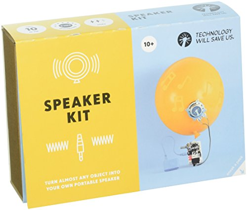 Tech Will Save Us, Speaker Kit | Educational STEM Toy, Ages 10 and Up by Technology Will Save Us