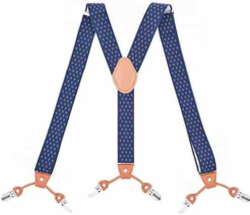 4c66feb7818 Tenchif Mens Suspenders Braces Y Shape - 1.38
