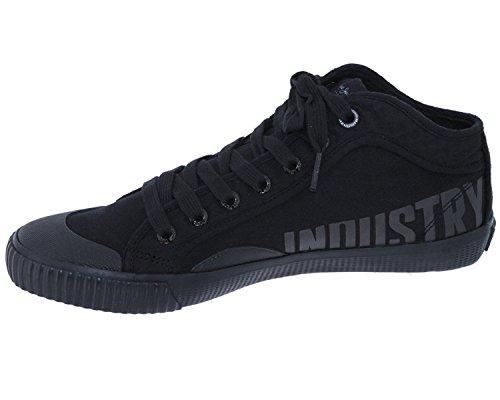 Pepe Jeans London Baskets Homme PLS30522 Industry Routes Noir Taille 38