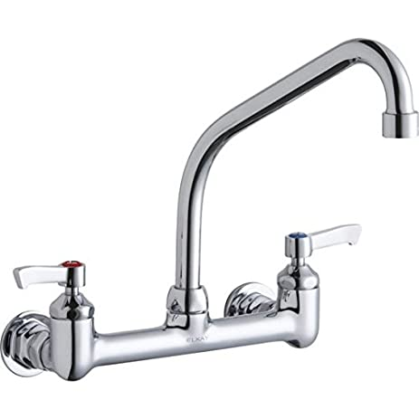 Elkay LK940HA08L2H Chrome Finish Solid Brass Faucet with 8\