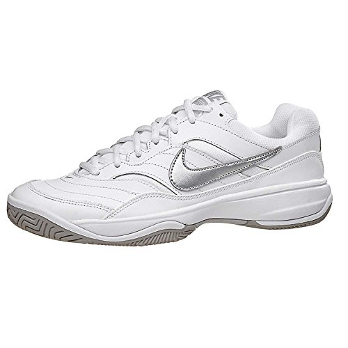 NIKE Femme WMNS Lite de Chaussures White Metallic Court Silver Fitness rBrqwU