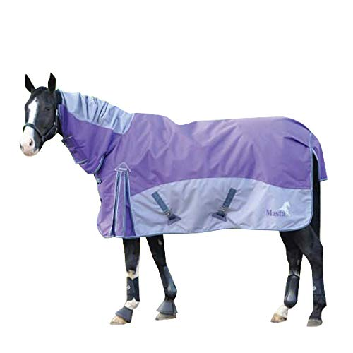 MASTA SS18 TEX TURNOUT RUG FIELDMASTA 100G FIX NECK PURPLE - 5' 0' - MAS4710