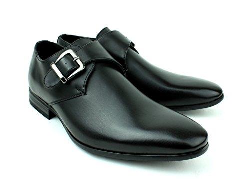 Hombre Formal Casual Oficina Inteligentes Piel Sintética Zapatos De Boda Negro