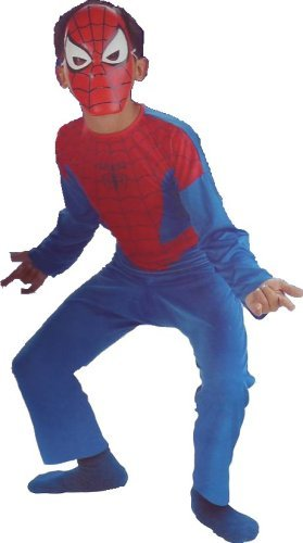 Spider Man Various Costumes (Spider Man Costume Spiderman Child Size)