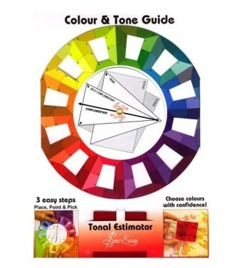 Quilted Bear Colour Wheel And Tone Guide