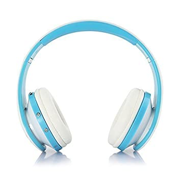 Top-Longer Auriculares Bluetooth Inalámbricos / Auriculares Over Ear con micrófono integrado, Batería Interna y Almohadillas de Cuero: Amazon.es: ...