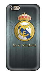 Premium Durable Real Madrid Fc Logo Fashion Tpu Iphone 6 Protective Case Cover