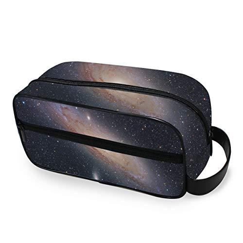 Portable Travel Toiletry Bag,NASA Galaxies Cosmetic Organizer for Men Women Multifunctional Bathroom Shower Shaving Bags
