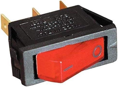 Roter Lichtschalter 12 V f/ür K/ühlschr/änke mit Dreifachk/ühler Wohnwagen CBE R237