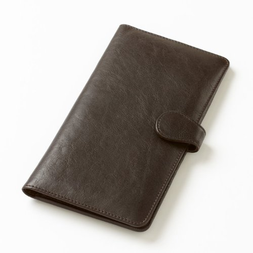 Clava Leather Tab Travel Wallet (Tuscan Cafe)