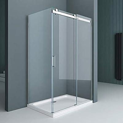 doporro Cabina de ducha diseño Ravenna17, 100x130x195cm, mampara ...