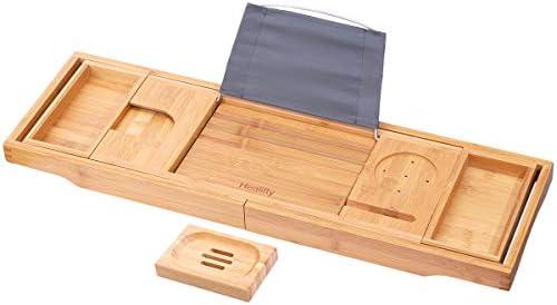 HEALIFTY Bathtub Tray Retractable Storage