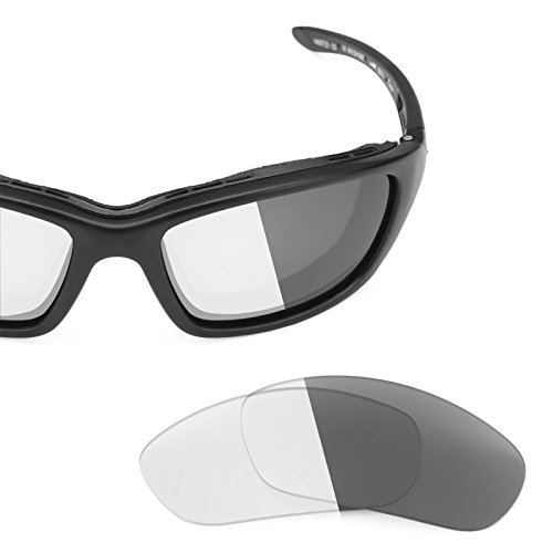 Grey Replacement Lenses - Revant Replacement Lenses Wiley X Brick Elite Adapt Grey Photochromic
