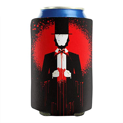 Lincoln Commercial Costumes - Lincoln Memorial Day Cartoon Portrait Beer