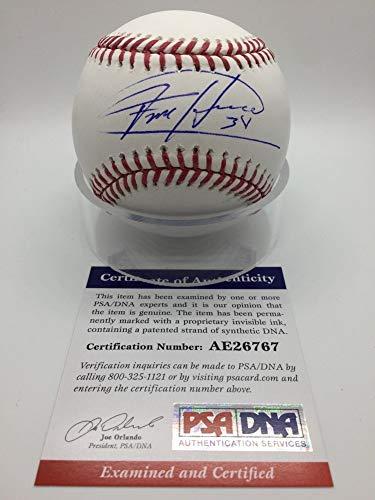 - Felix Hernandez Seattle Mariners Autographed Signed OMLB Official Baseball PSA/DNA