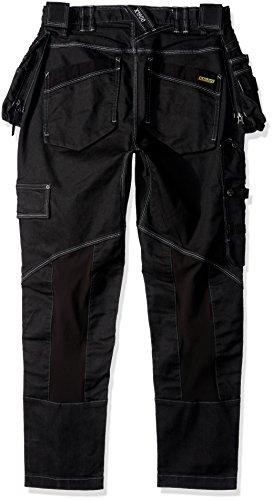 Blaklader 199911419900C46 Stretch Craftsman Trousers, Size 32/32, Black by Blaklader (Image #1)