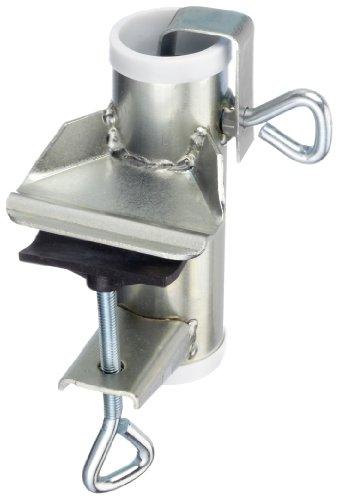 Videx 14202 Sonnenschirmhalter Typ H für Handlauf verzinkt 3,5 cm Durchmesser