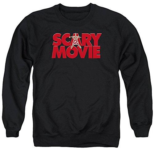 Scary Movie Logo Sweatshirt, Black, Small]()