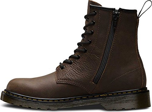 enfant Dark Dr Martens Brown Delaney Boots mixte x0xZXIqv