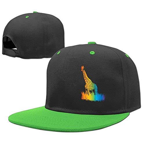 Boy Hip Girl RGFJJE Hop Caps Giraffe Hats Colorful Baseball Gorras béisbol xqpqRzUI