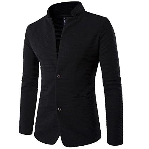ColourfulMen Colourful Men Pure Color Patches Long Sleeve Fashion 2 Button Dress Suit Blazer supplier
